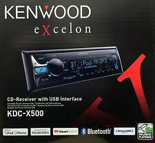 Kenwood Excelon KDC-X500 *NEW