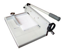 "New 12"" Manual Stack Paper Cutter Trimmer Heavy Duty, capacity up to 400 sheets"