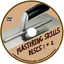 LEARN 2 PLASTER FOR BEGINNERS STEP BY STEP PLASTERING COURSE 4 DIY STUDENTS DVD