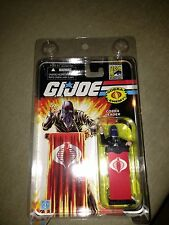GI Joe SDCC Black Suit Variant Cobra Commander With Protective Case 2008 New