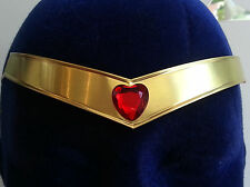 Sailor ChibiChibi Red Heart Gem Metal Cosplay Tiara