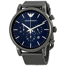 Emporio Armani Sport Chronograph Blue Dial Mens Watch AR1979