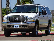 Ford: Excursion 7.3L 4X4 SUPER DUTY DIESEL LIMITED 3RD ROW 1 OWNER