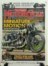 The Classic Motorcycle July 2016 Miniature in Motion 680 Brough FREE SHIPPING sb