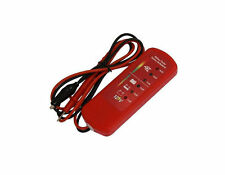 12V Car Van Motorbike Motorcycle Battery Alternator Tester With LED Indicators