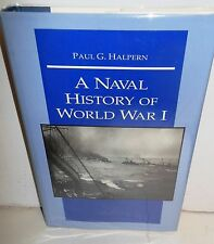 BOOK A Naval History of World War I by Paul Halpern op 1994 stated 1st Naval IP