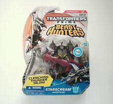 Hasbro Transformers Beast Hunters Deluxe Class Starscream Figure