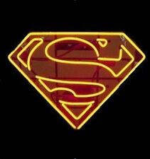 Superman Super Hero Comics Logo Neon Sign 20''X17'' C15 ship from USA