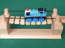 BRIO / ELC  wobbly RICKETY ROPE BRIDGE for Thomas WOODEN train ENGINE TOY set