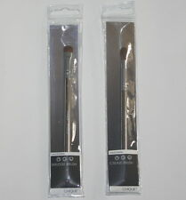 CHIQUE by Royal Set ✯ Crease & Smudge Eye Shadow Brush Chrome Effect Handle NEW