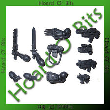 WARHAMMER 40K BIN BITS SPACE MARINE COMMANDER - WEAPON ARMS