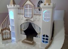 NEW CUSTOM PRINCESS CATARINA CASTLE LOFT BED