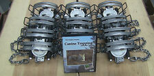(6 pack) Minnesota Brand MB-650 Coyote / Bobcat Trap Free DVD INCLUDED