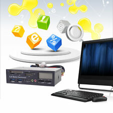 Portable All In 1 Media Dashboard 5.25 Inch CD ROM Multifunctional Panel F7K
