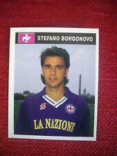 FIGURINA BORGONOVO ALBUM CALCIATORI CAMPIONI & CAMPIONATO 1990/91 - no panini