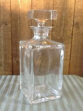 Atlantis - Full Lead Crystal Decanter - Hand blown and cut for block - Portugal