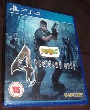 Resident Evil 4 HD Remake  Playstation 4 PS4 NEW SEALED