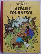 HERGE - Tintin. L'Affaire Tournesol - EO française B19 de 1956 - Très Bel Etat