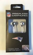 New England Patriots iHip Premium Audio Earphones Earbuds - iPhone iPod NEW