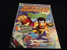 Nintendo Power Volume 103 Diddy Kong Racing Cover w/ Attached WCW/NWO Poster