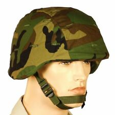 New Woodland PASGT Helmet Cover Ripstop Poly Cotton