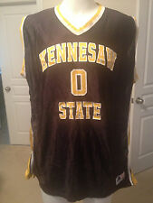 KENESAW STATE PLAYER EDITION BASKETBALL JERSEY  3XL BLACK 0 COLLEGE