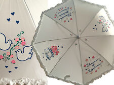 BRIDAL SHOWER UMBRELLA PARASOL WEDDING PERSONALIZED