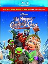 DISNEY : THE MUPPET CHRISTMAS CAROL :20th Anniver - BLU RAY - Sealed Region free