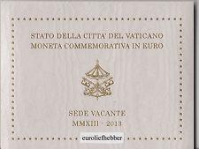 Vaticaan   2  Euro  Commemorative    2013    SEDE VACANTE