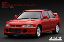HPI #8559 Mitsubishi Lancer Evolution Evo II 2 Monaco Red 1/43 model