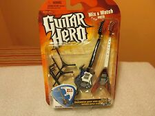 McFarlane Guitar Hero Duets Miniature Guitars Frydaze & Voracious with Stand