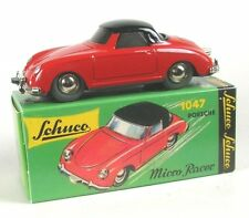 Porsche 356 Coupe (red/black) Micro Racer 1047