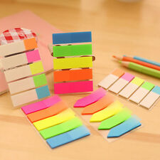 Lots 100X Colorful Arrows Shape Sticker Post It Bookmark Memo Sticky Notes