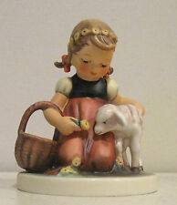 Hummel Figurine Favorite Pet with Hummelscape Easter Morning in Boxes