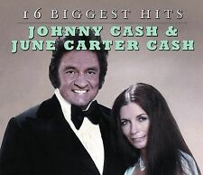 16 Biggest Hits: Johnny & June by Johnny Cash (CD, Mar-2009, Legacy)