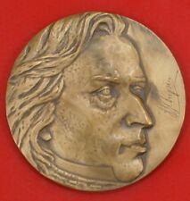 POLISH MEDAL: HEAD CHOPIN