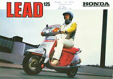 HONDA LEAD 125 BROCHURE
