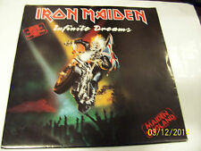 "Iron Maiden - Infinite Dreams .12"" Vinyl Poster Sleeve. Autographe etched disc"