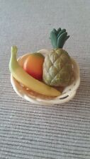 """18"""" doll tropical fruit basket fits American Girl Our Generation toy good fr Lea"""