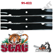 "(3) Blades 91-622 for Scag 52"" Deck 
