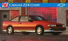 Old Print. 1990 Chevrolet Cavalier Z24 Coupe Auto Ad