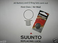 Energizer Batteria & O-RING Kit for Suunto Vyper, Vytec, Gekko, ZOOP, Helo2