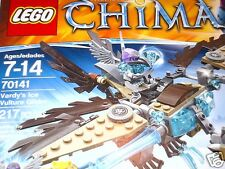 NIB LEGO 70141 Chima Vardy's Ice Vulture Glider - 217 pcs New In Sealed Box