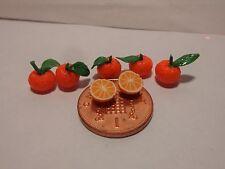 1:12 escala 5 naranjas y 2 mitades naranjas entero