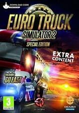 Euro truck simulator 2-édition spéciale (digital download card) new & sealed