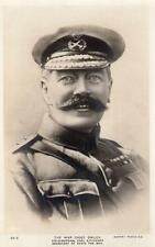 Field Marshal Earl Lord Kitchener Smiles RP old pc used 1916 Rotary