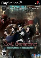 Shin Megami Tensei Devil Summoner Raidou Kuzunoha vs.The Soulless Army BRAND NEW