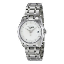 Tissot T-Trend Couturier White Dial Ladies Watch T0352101101100