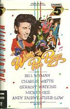 WILLIE AND THE POOR BOYS - Deleted 1986 UK VHS video - Bill Wyman-Rolling Stones