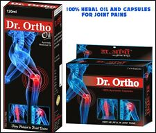 Dr.Ortho Ayurveda Medicinal Oil & Capsules is 100% Herbal for Joint Pains Relief